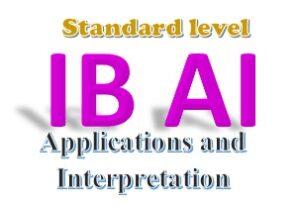 IB Applications and interpretations - Standard level