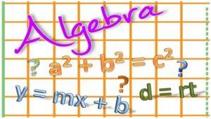 Topic 1: Algebra