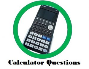 Calculator questions