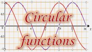 3.5 Circular functions