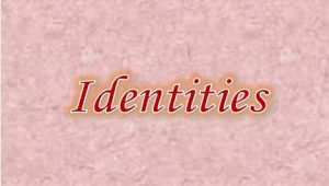 3.4 Identities