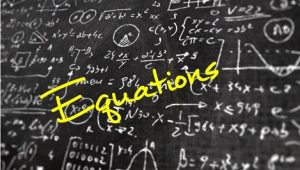 2.1 Equations