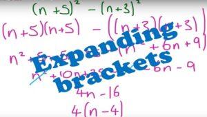 2.4 Expanding brackets