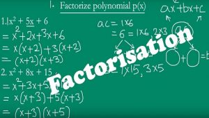 2.5 Factorisation