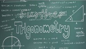 8.3 Further trigonometry