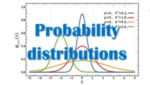 5.4 Probability distributions