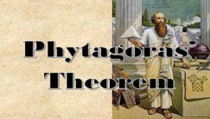5.4 Pythagoras' theorem