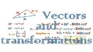 TOPIC 6: VECTORS AND TRANSFORMATIONS