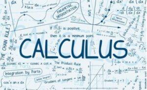 Topic 6: Calculus