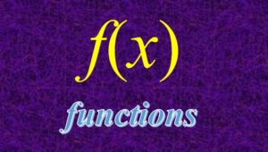 2.2 Functions
