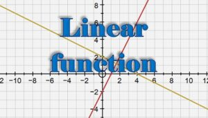 2.2 Linear functions