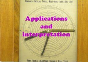 IB Mathematics – Applications and interpretation