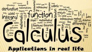 5.5 Calculus, Applications