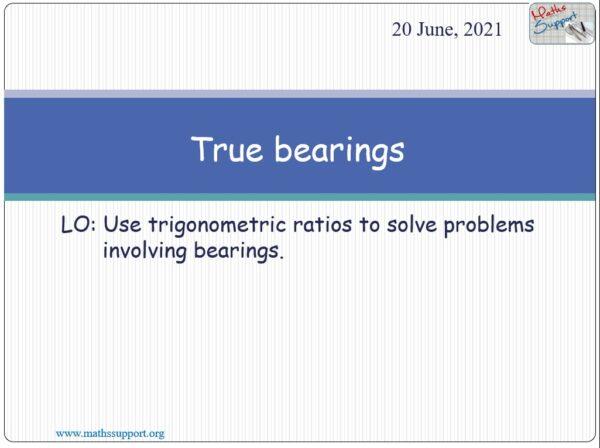 True bearings