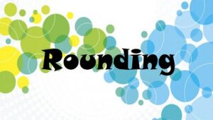 1.11 Rounding